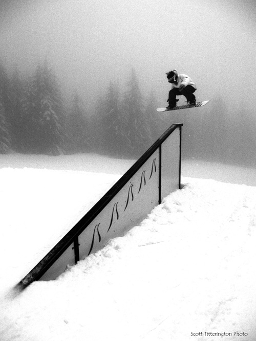 Grouse mountain Pole Jam 2006/2007