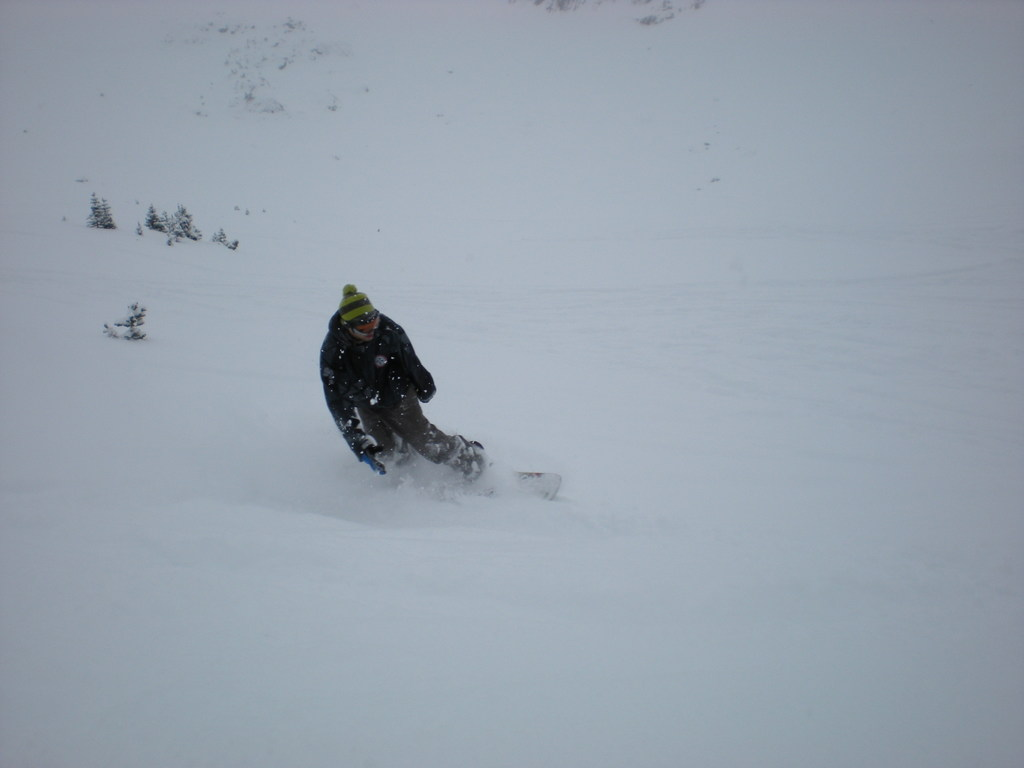 It was fun till you got stuck in powder waist deep...then it was even better!